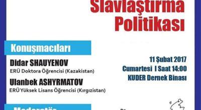 Panel:Rusların Slavlaştırma Politikası